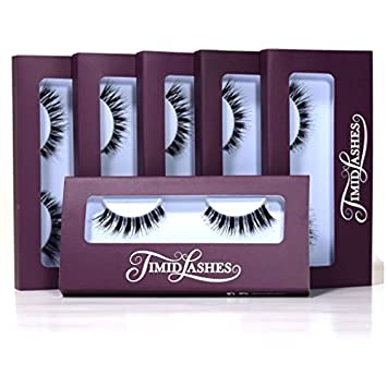 8808e2cfac3 Amazon.com : Demi Whisper by Timid Lashes | Six-Pack Premium Quality False  Eyelashes by Timid Lashes : Beauty