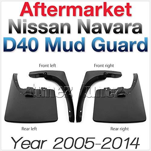Tunez MGNV01 OEM Front Rear Left Right Mudflap Mud Flap Splash Guard Navara D40 dCi