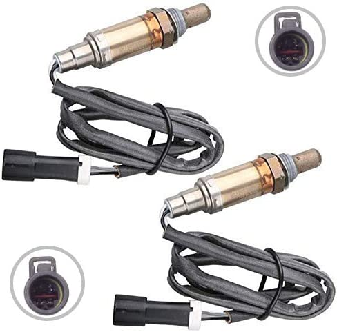 Set of 2 MOSTPLUS Male O2 Oxygen Sensor Front /& Rear Downstream /& Upstream Compatible with Ford Mazda Mercury