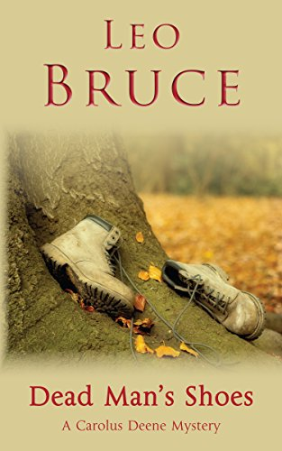 book cover of Dead Man\'s Shoes