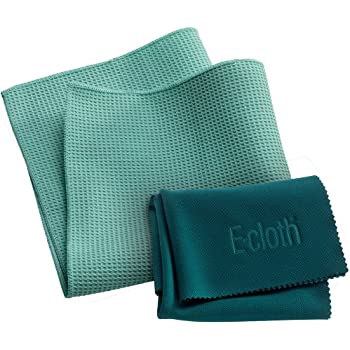 e-cloth - Perfect cleaning with just water using unique microfibres