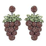 DEEPA GURNANI Women's Grape Earrings