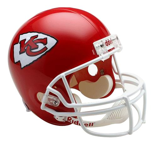 (NFL Kansas City Chiefs Deluxe Replica Football Helmet)