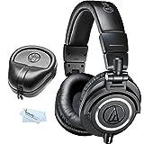 Audio-Technica-ATH-M50x-Professional-Monitor-Headphones-Slappa-Full-Sized-HardBody-PRO-Headphone-Case-SL-HP-07