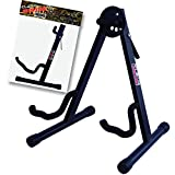#8: GLEAM Guitar Stand Fit Electric, Classical Guitars and Bass, Guitar Accessories, A-Frame Single Folding Guitar Stand