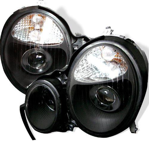 Spyder Auto PRO-CL-MW21099-BK Mercedes E-Class W210 Black Projector Headlight