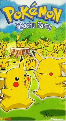 Price comparison product image Pokemon - Pikachu Party (Vol. 12) [VHS]