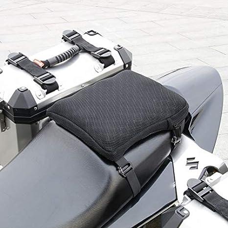 Kuinayouyi Cuscino Sedile Moto Sedile Ammortizzante Gonfiabile Traspirante Antiscivolo Cuscino Sedile Adatto per Cruiser AIRHAWK