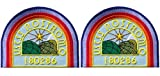 Set of 2 Alien Movie USCSS Nostromo Crew Shoulder Costume Cosplay Patches