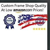 39 frame - 13x39 Contemporary Black Wood Picture Panoramic Frame - UV Acrylic, Foam Board Backing, Hanging Hardware Included!