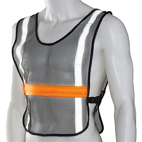 Ultimate Performance Race Vest LED-Rennweste, Orange, Einstellbar