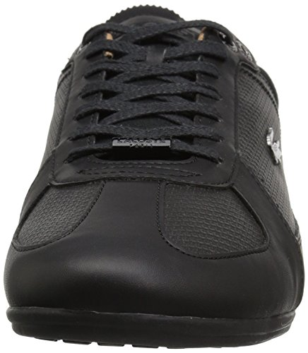 Lacoste Evara Heren Sneakers Black / Dkgry Synthetic