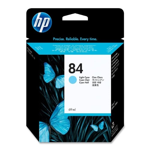 Hewlett Packard 84 69-ml Light Cyan Ink Cartridge