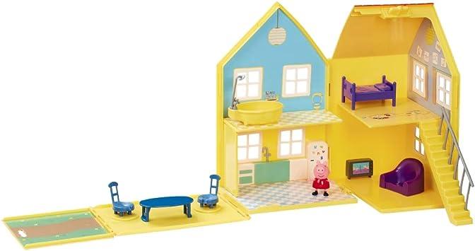 Giochi Preziosi Peppa Pig La Grande Casa Deluxe con Accesorios: Amazon.es: Juguetes y juegos