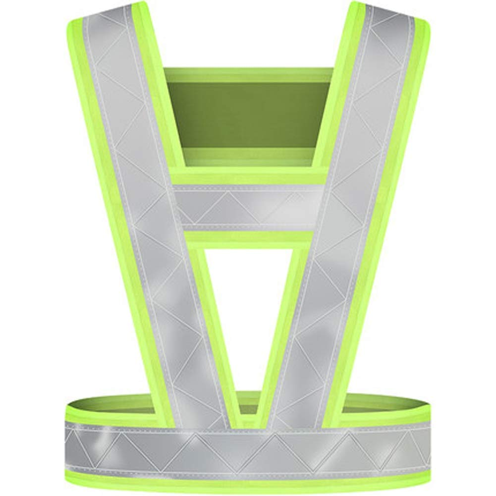 RYYAIYL Reflective Night Running Vest,Ultrathin Lightweight Safety Vest with 360° High Visibility for Running, Cycling, Hiking/20.1x15inches
