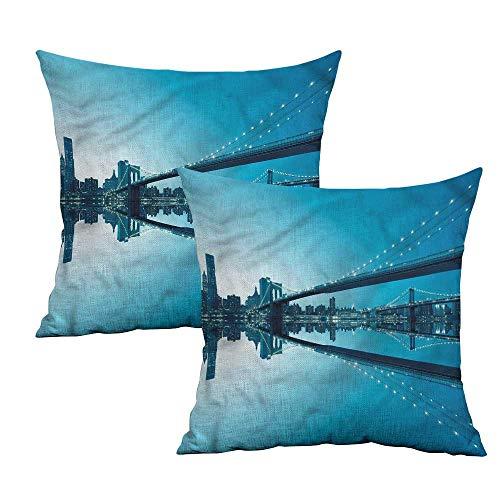- Khaki home Landscape Square Zippered Pillowcase Monochrome American Square Funny Pillowcase Cushion Cases Pillowcases for Sofa Bedroom Car W 18
