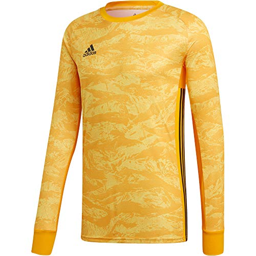 Graphic Jersey Goalkeeping (adidas ADIPRO 19 Goalkeeper Jersey Junior GK Shirt Collegiate Gold Yellow for Soccer Goalkeeping)