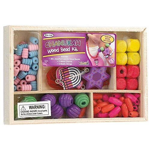 Rite Lite Hanukkah Wood Bead Craft Kit