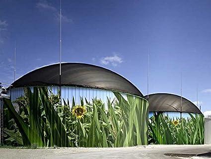 Amazon com: Tollyee Biogas Plant Germany - Art Print on