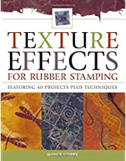 Texture Effects for Rubber Stamping