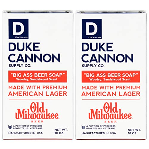 (Duke Cannon Big Ass Beer Soap for Men 10 oz. (Pack of)