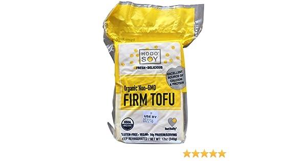 Hodo Soy Beanery, Organic Firm Tofu, 2pk of 12 oz blocks
