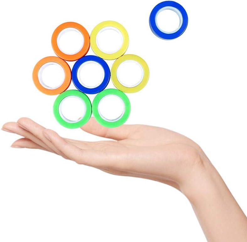 Casturu Finger Magnetic Ring Blue 3PIC