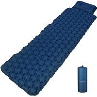 Seenlast Camping Air Sleeping Mat,Inflatable Air Mattress Ultralight Waterproof Portable Inflating Sleeping Pad for…