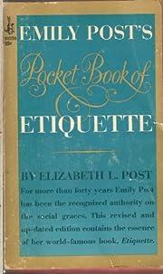 Emily Post's pocket book of etiquette…