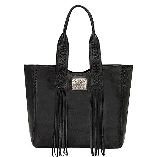 american-west-mohave-canyon-large-zip-top-tote-black