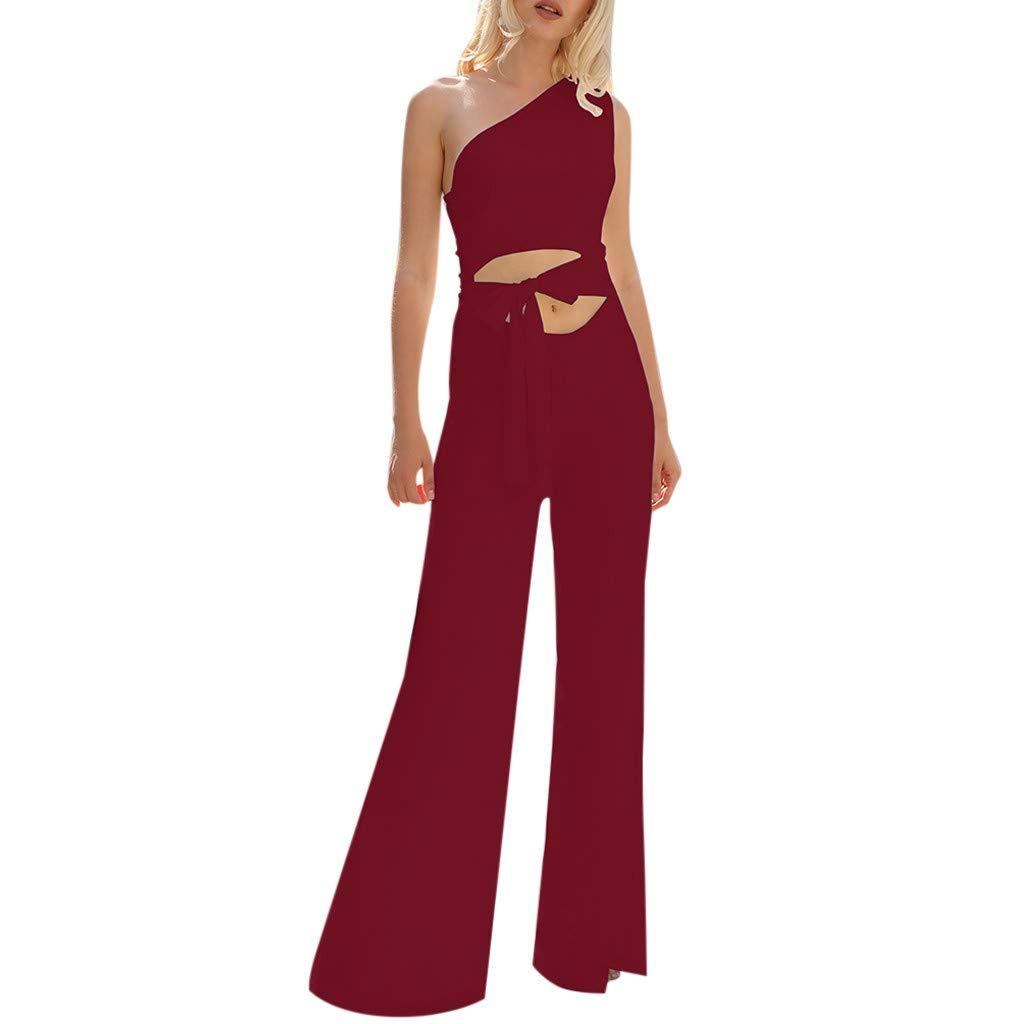 dd5a0662d9db Amazon.com: VonVonCo Rompers for Plus Size Women Summer Fit Slim ...