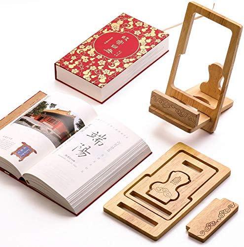 Y-RD 2020 Kalender Kalender chinesischen Stil kreative minimalistisch inspirierend Desktop hölzernen Verzierungen planen Notebook Lochkarte notiz Kalender