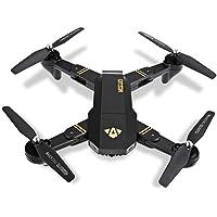 Talreja Enterprises Visuo WiFi Camera Drone, Altitude Hold and Folding Feature - Black Color