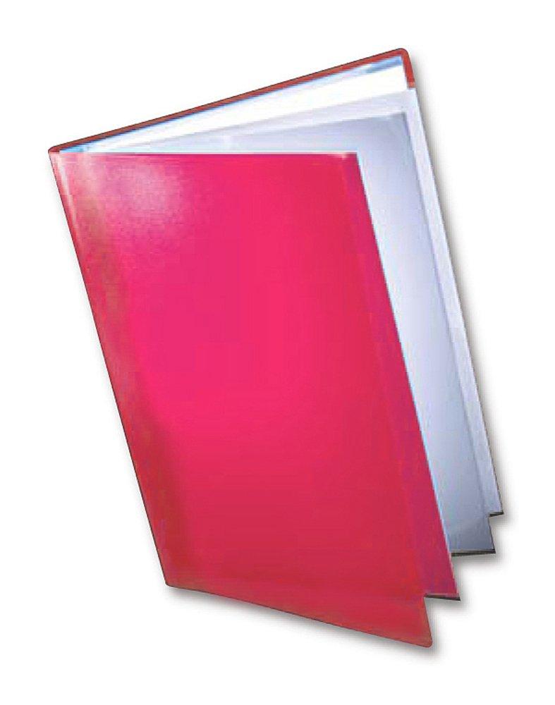 Pastel Colour A4 Display Book 20 Pocket Document Folder Wallet Pink PTDI