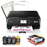 Edible Canon LCD Printer Bundle Sweet Package Wafer + Frosting Sheet/Ink Cartridge + - Best Reviews Guide