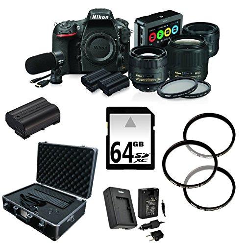 Nikon D810 FX-format Digital SLR Film Makers Kit w/ AF-S NIKKOR 35mm (Nikon Film)