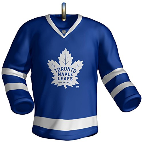 Leaf Holiday Card (Hallmark Keepsake 2017 NHL Toronto Maple Leafs Jersey Christmas Ornament)