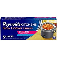 Deals on 5 Count Reynolds Kitchens Premium Small Slow Cooker Liners