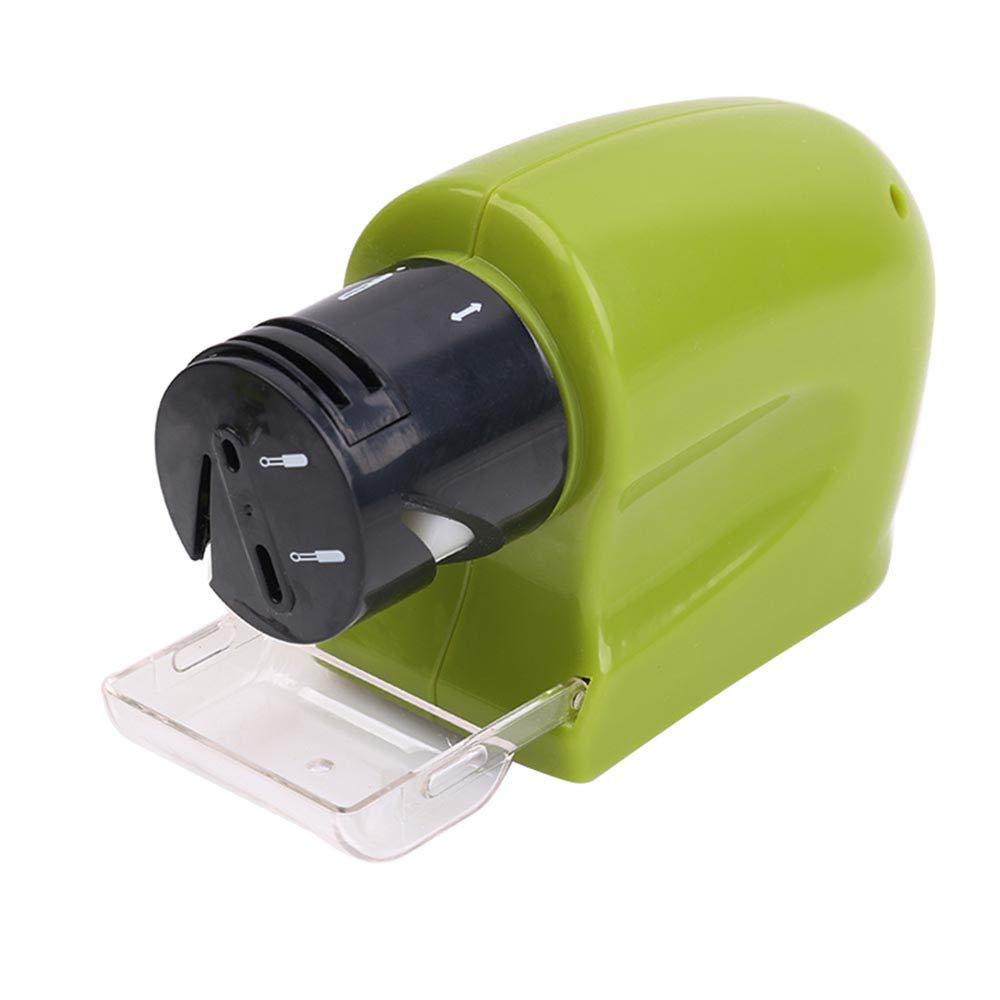 Affila lame coltelli forbici cacciaviti elettrico a batterie portatile universale e regolabile. Kamiustore