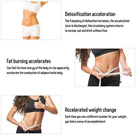 AMITD Abnehmen Massage Gürtels Elektrische Vibration Saunagürtel mit 4 Motoren Gewichtsverlust Automatisches Timing Ferninfrarot-Heizung Fettverbrenner für Frauen & Männer