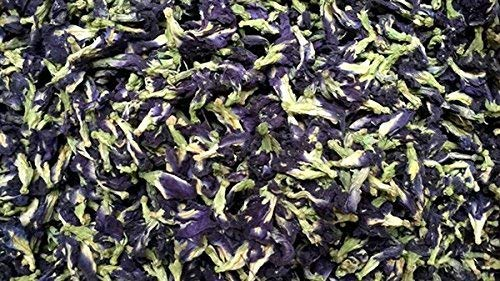 Dried Butterfly Pea Flowers Tea, Use to Cook, For Thai Food, Beverage, Cake or Cookie