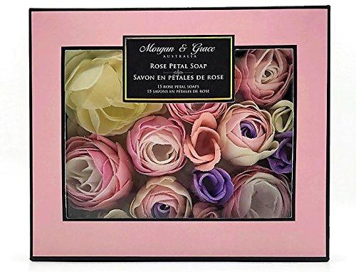 Pearl Rose Morgan (Morgan & Grace Rose Petal Soaps - 15 Soaps)