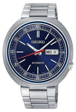 Seiko Reloj Analogico para Hombre de Automático con Correa en Acero Inoxidable SRPC09K1: Amazon.es: Relojes