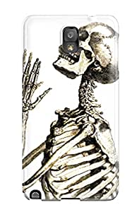 Amanda W. Malone's Shop Best 8228354K22267768 Durable Defender Case For Galaxy Note 3 Tpu Cover(skeleton)