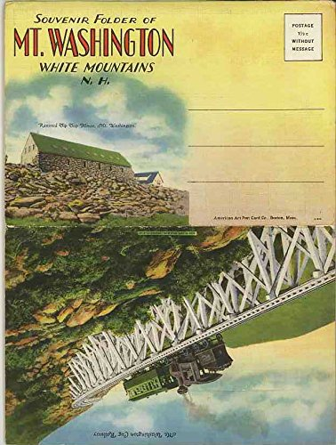 Mt. Washington White Mountains of New Hampshire (1931, used for sale  Delivered anywhere in USA