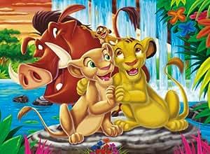 Clementoni 30046.4  - Amigos Puzzle Animal: El Rey León 350 piezas