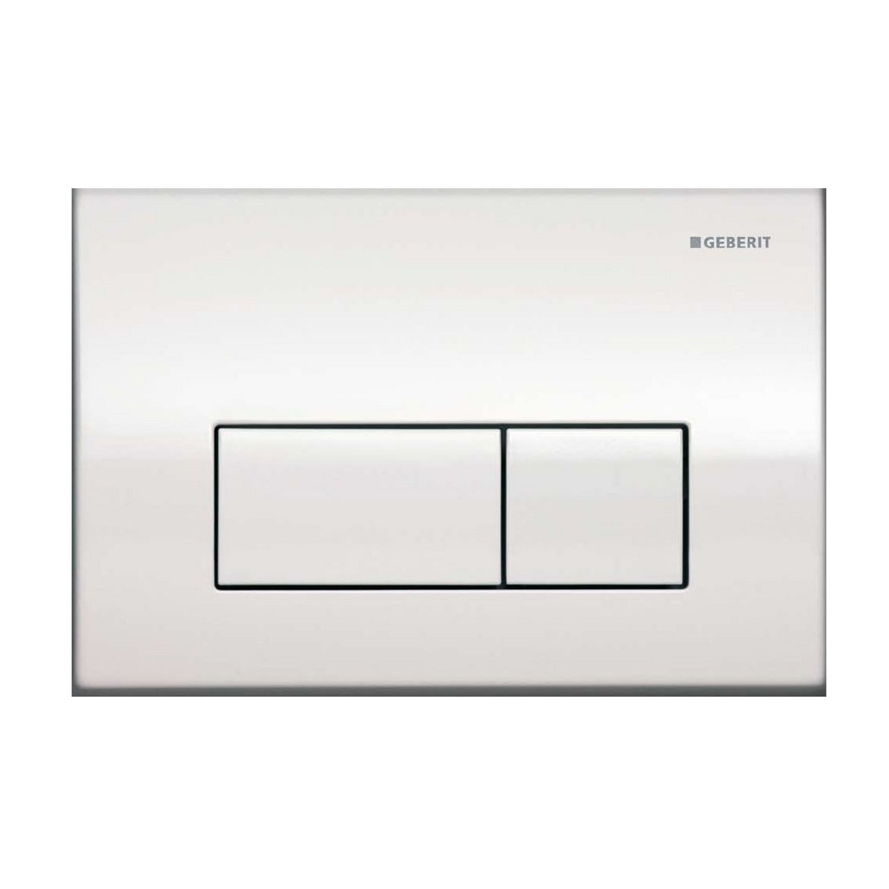 Geberit 115.260.21.1 Kappa50 Dual-Flush Actuator, Polished Chrome ...