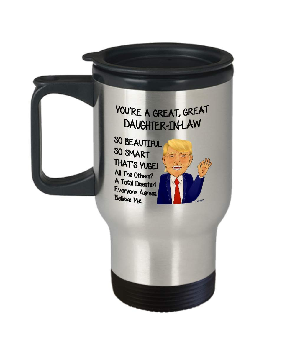 Amazoncom Daughter In Law Travel Mug Funny Gift Idea From Mom In