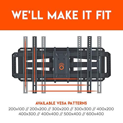 ECHOGEAR-Full-Motion-Articulating-TV-Wall-Mount-Bracket-for-42-80-TVs-Smooth-Articulation-Swivel-Tilt-Easy-to-Install-Heavy-Duty-Design-EGLF2