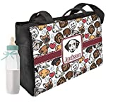 Dog Faces Diaper Bag - Front & Back (Personalized)